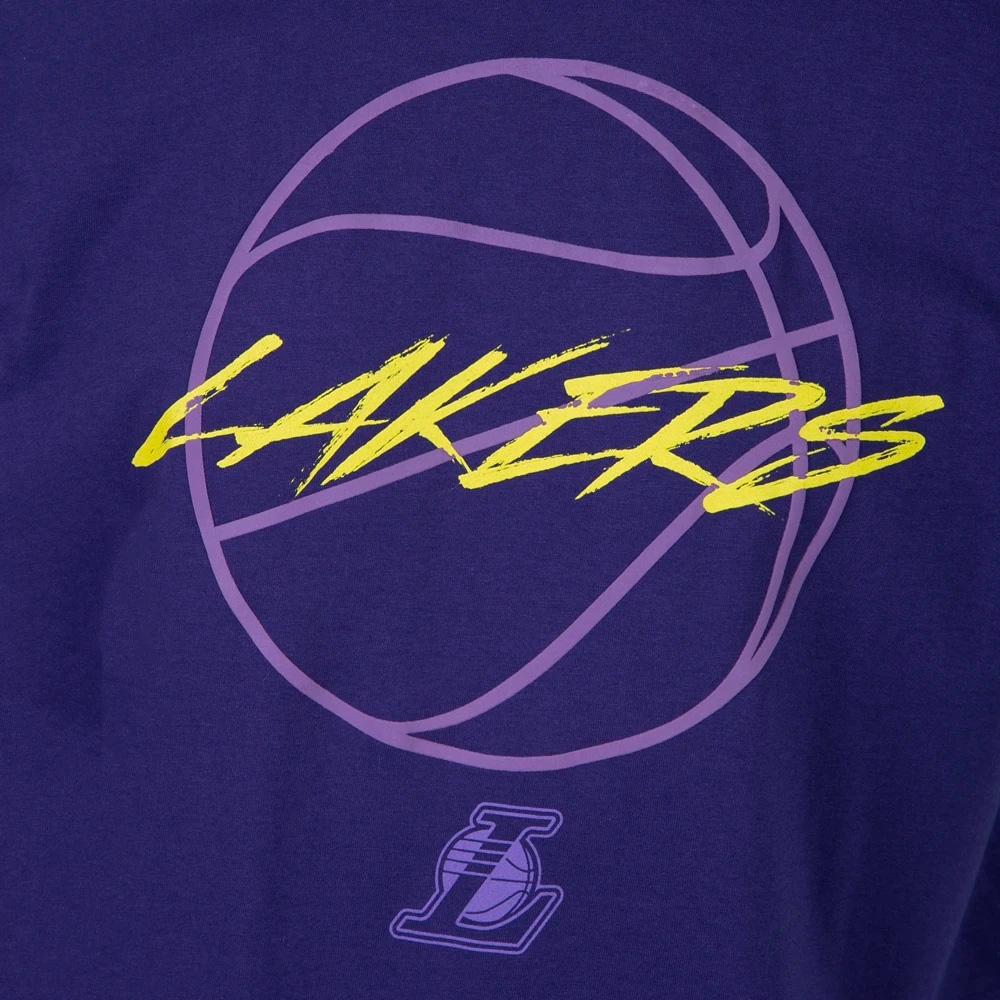 CAMISETA NEW ERA MASCULINA ORIGINAL NBA LOS ANGELES LAKERS