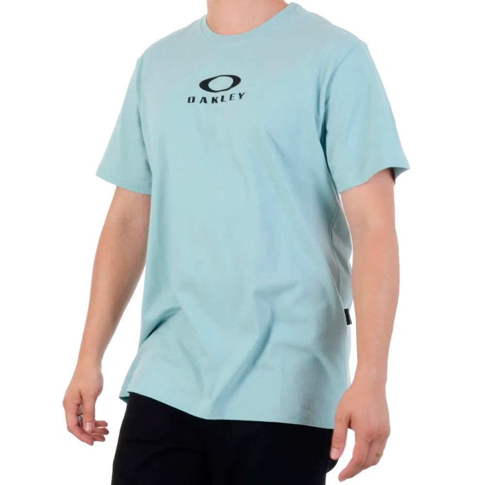 CAMISETA OAKLEY ORIGINAL MASCULINA BARK NEW TEE GRAY MIST