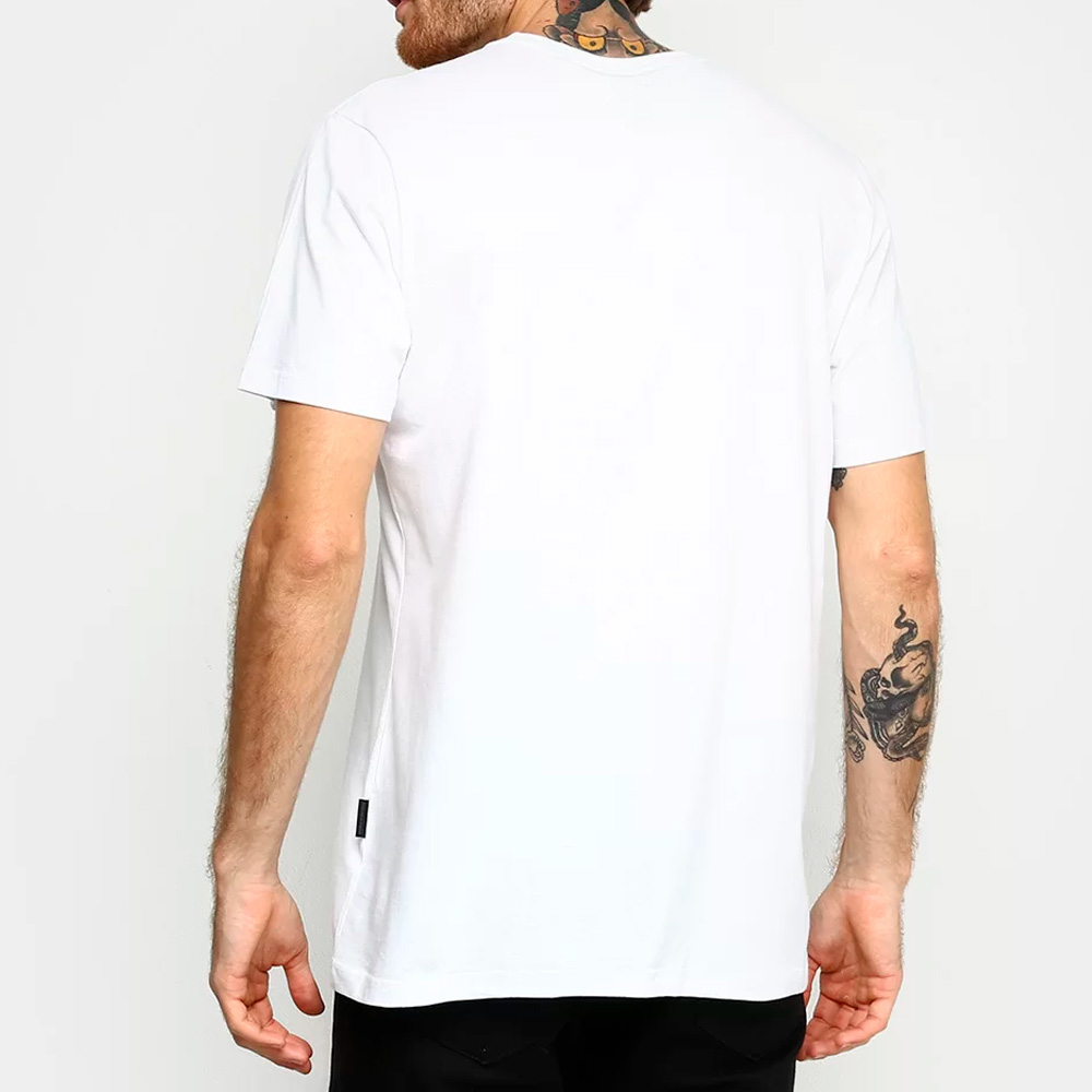 CAMISETA OAKLEY ORIGINAL MASCULINA O-BARK SS TEE OFF WHITE