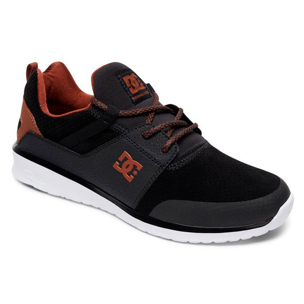TÊNIS DC SHOES HEATHROW PRESTIGE ADYS700084-XKCW PRETO