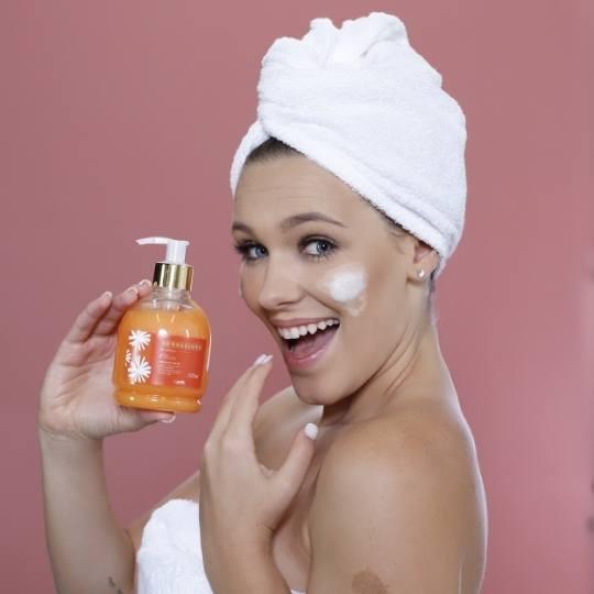 Sabonete liquido corporal Sensazione - Lenitiva - 300ml