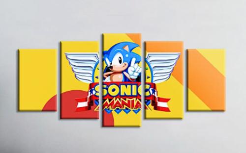 Quadro Mosaico Sonic