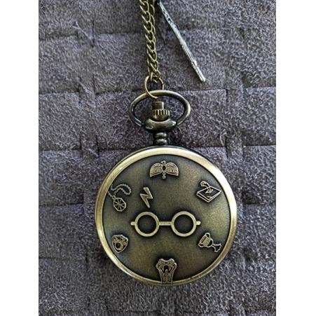 Relógio de Bolso Harry Potter