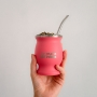 Kit Cuia Térmica Guayra + Bomba + Blend de Erva Mate Caipora