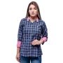 Camisa Xadrez Feminino Cassola