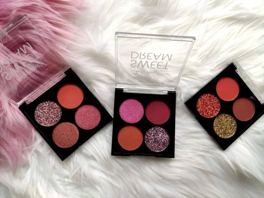 Belle Angel Paleta De Sombras Glitter Sweet Dream - 3 opções de cores