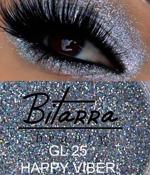 Bitarra Beauty COR 215 Glitter Multicolor / GL 25 Sombra Asa de Borboleta (Pigmento / Glitter)