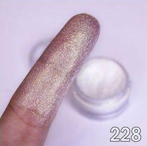 Bitarra Beauty COR 230 Gold 3D / PG Diamond Sombra Asa de Borboleta (Pigmento / Glitter)