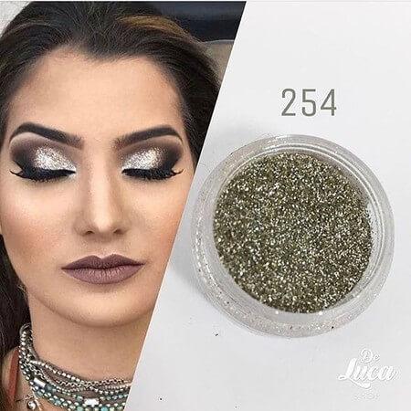 Bitarra Beauty COR 254 / GL 37 Sombra Asa de Borboleta (Pigmento / Glitter)