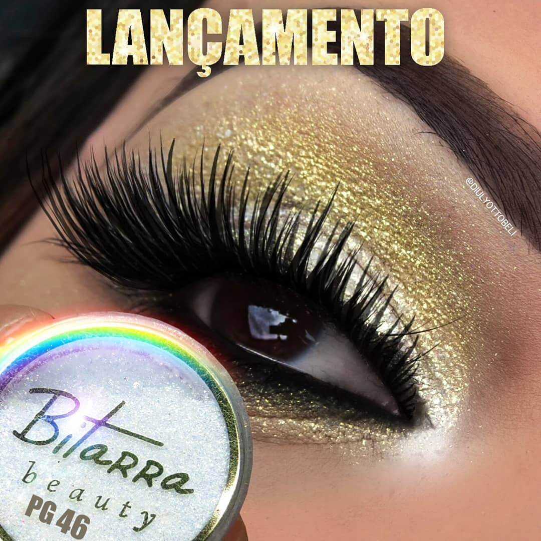 Bitarra Beauty COR 46 Pigmento Sombra Asa de Borboleta (Pigmento / Glitter)