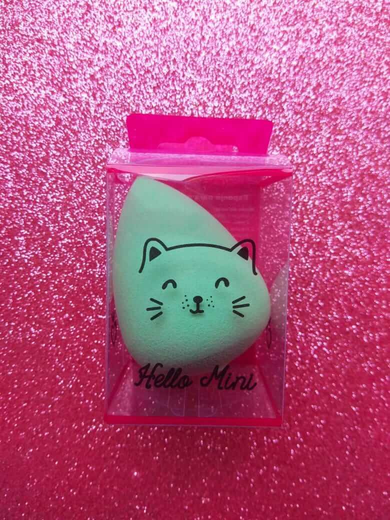 Hello Mini Esponja para Maquiagem Gota Lisa