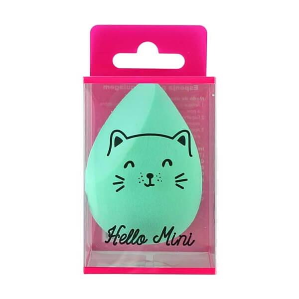 Hello Mini Esponja para Maquiagem Gota Ponta Chanfrada