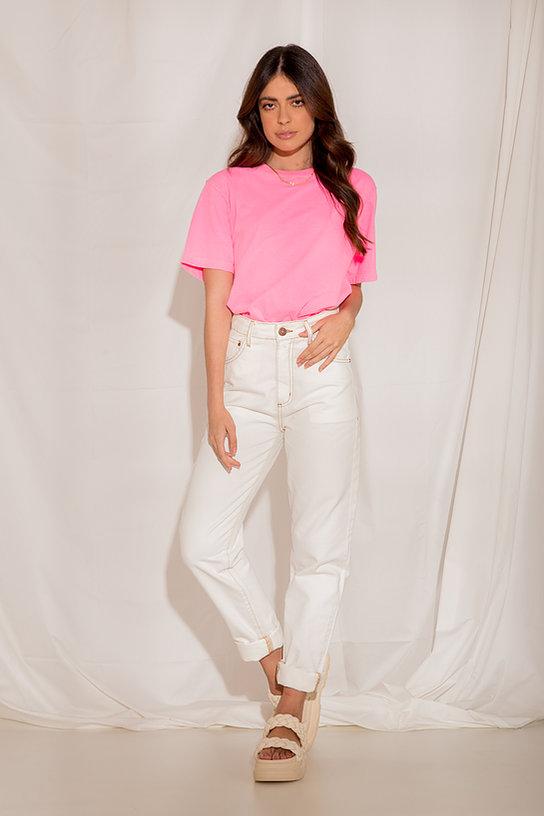In Love T-Shirt Pietra Rosa Neon