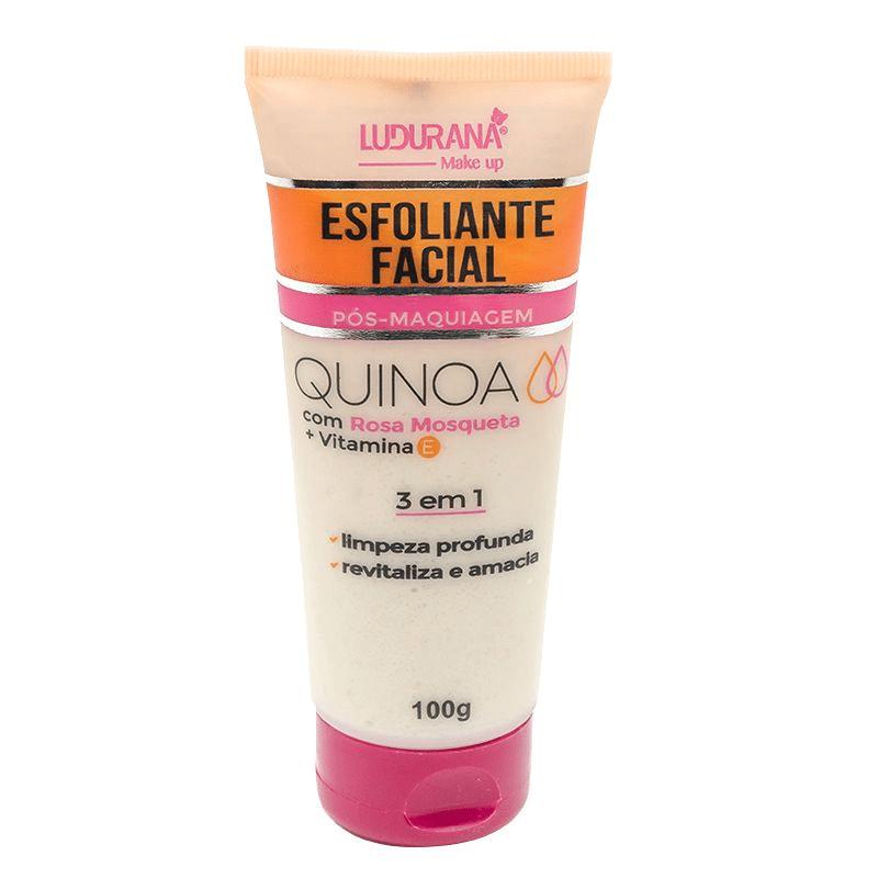 Ludurana Esfoliante Facial Quinoa com Rosa Mosqueta
