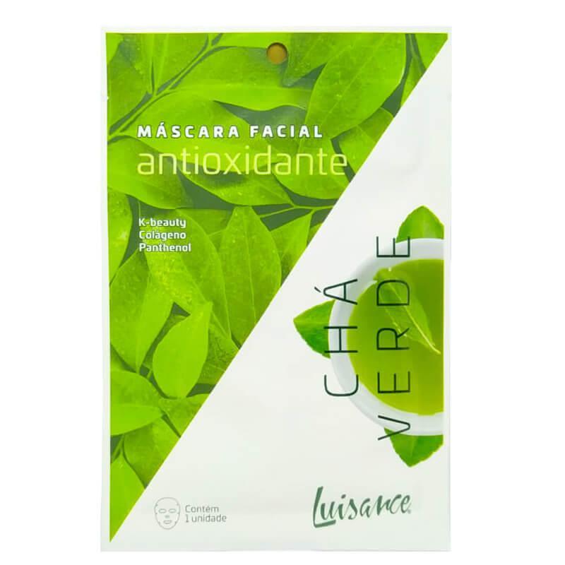 Luisance Máscara Facial Antioxidante - Chá Verde