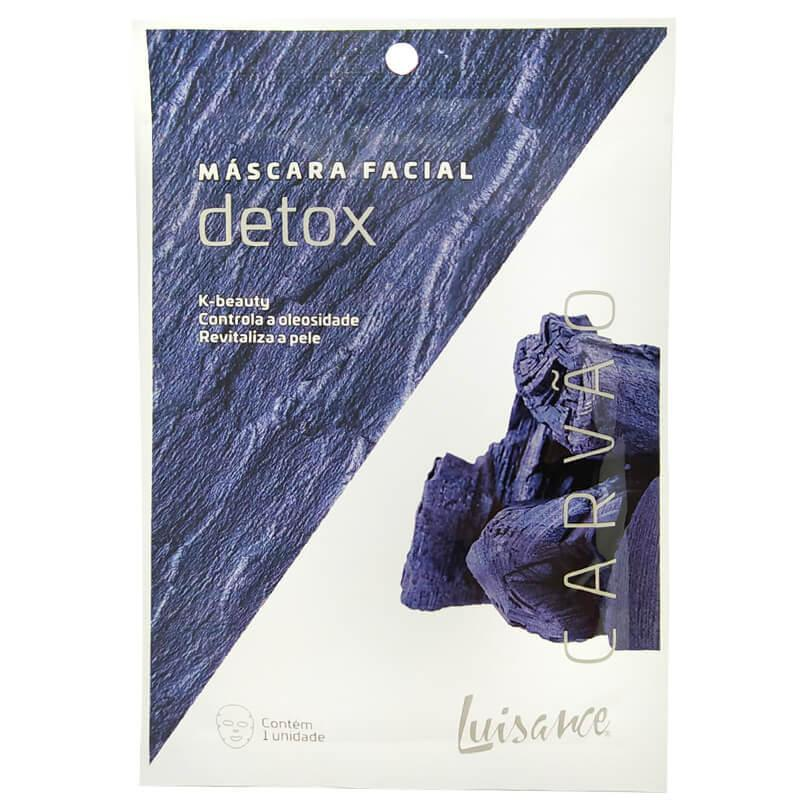 Luisance Máscara Facial Detox - Carvão