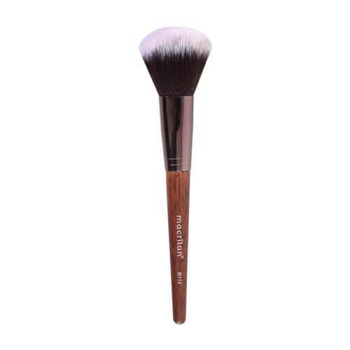 Macrilan Pincel de maquiagem para Pó M112