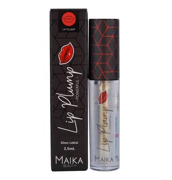 Maika Gloss Labial Lip Plump Powerful