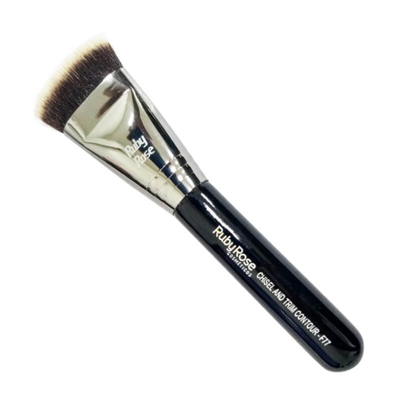 Ruby Rose Pincel F77 Chisel and Trim Contour