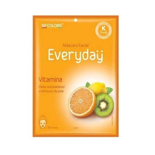SP Colors Máscara Facial Every Day - Vitamina