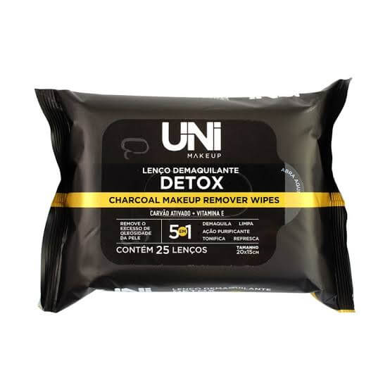 Uni Makeup Lenço Demaquilante Detox