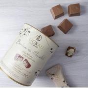 Bombom de Chocolate Belga Zero Açúcar ao Leite -Cookie and Cream - 200g