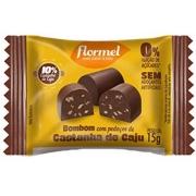 Bombom Zero Chocolate com Castanha de Caju Flormel - A UNIDADE