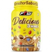 DELICIOUS 3 WHEY | 900G | MINI CHOCOLATE SORTIDOS | FTW SPORTS NUTRITION