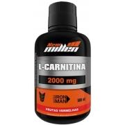 L-Carnitina 2000Mg - 500Ml Frutas Vermelhas - New Millen