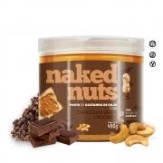 PASTA CASTANHA CAJU 450G CHOCOLATE BELGA CROCANTE NAKED NUTS