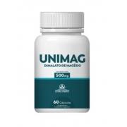 Unimag - Dimalato de Magnésio | 60 cápsulas | União Vegetal