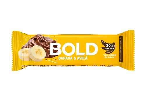 BOLD BAR | 60G | BANANA AVELÃ | BOLD NUTRITION