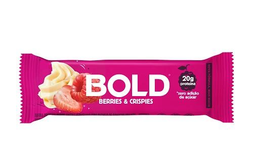 BOLD BAR   60G   BERRIES CRISPIES   BOLD NUTRITION