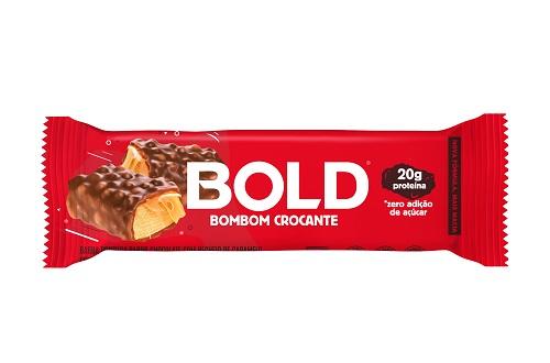 BOLD BAR   60G   BOMBOM CROCANTE   BOLD NUTRITION