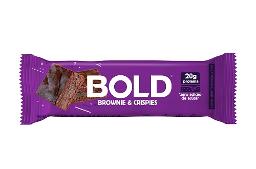 BOLD BAR 12X60G BROWNIE CRISPIES BOLD NUTRITION