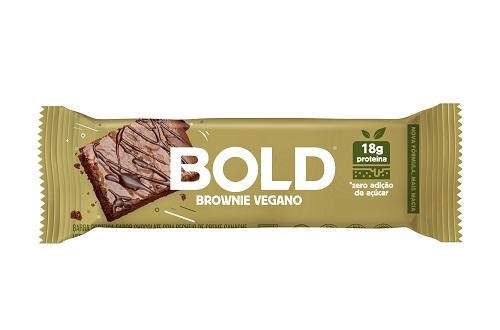 BOLD BAR   60G   BROWNIE VEGANO   BOLD NUTRITION