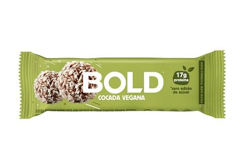 BOLD BAR 12X60G COCADA VEGANA BOLD NUTRITION