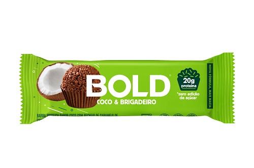 BOLD BAR   60G   COCO BRIGADEIRO   BOLD NUTRITION