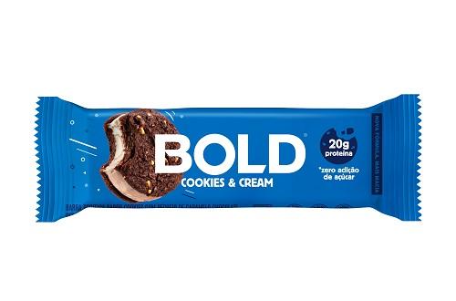 BOLD BAR 12X60G COOKIES CREAM BOLD NUTRITION