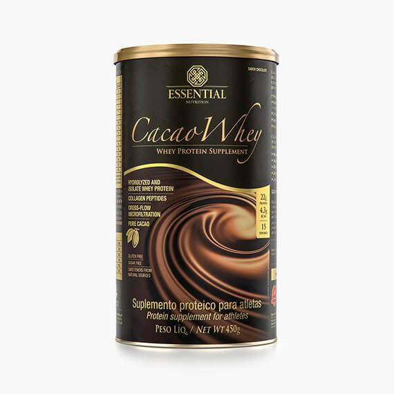 CACAO WHEY LATA 900G 30 DOSES ESSENTIAL