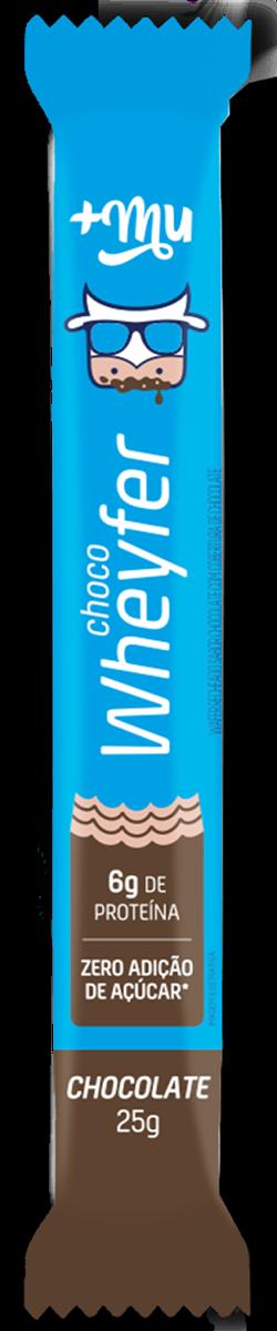Choco Wheyfer Chocolate - 25g  +Mu