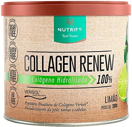 Collagen Renew 300G Limão - Nutrify