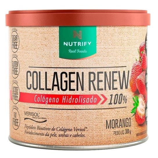 Collagen Renew 300g Sabor Morango - Nutrify