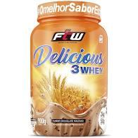 DELICIOUS 3 WHEY | 900G | CHOCOLATE MALTADO FTW | SPORTS NUTRITION