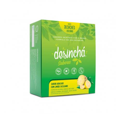 DESINCHÁ | Abacaxi com Limão Siciliano| 30 SACHÊS
