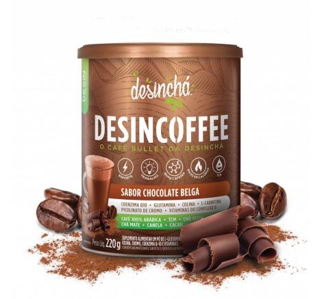 DESINCOFFEE 6X220G CHOCOLATE BELGA DESINCHA