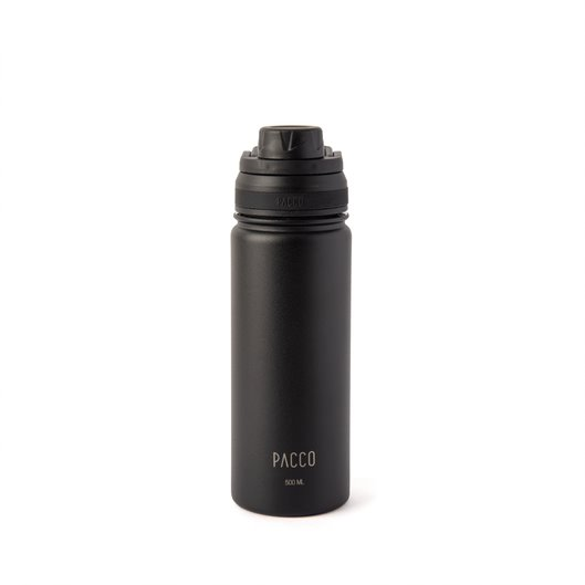 Garrafa Térmica Hydra Bottle 500ML PRETA - PACCO