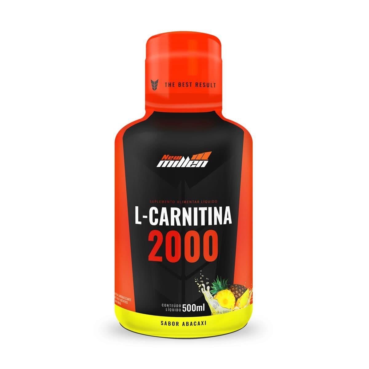 L-CARNITINA 2000MG ABACAXI NEW MILLEN