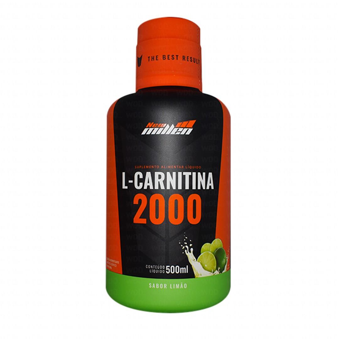 L-Carnitina 2000mg 500ml - New Millen