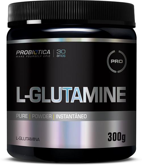 L-GLUTAMINE 300G S/SABOR PROBIOTICA